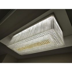 Ceiling Mounted LED Crystal Chandelier, For For Decoration Purpose