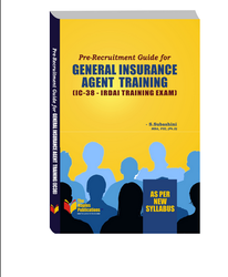 Pre-Recruitment Guide For General Insurance Agent Training Book IC-38