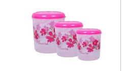 Plastic Food Container Set, For Kitchen Storage