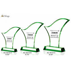 Acrylic Wings Trophies