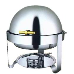 Mobile Round Chafing Dish