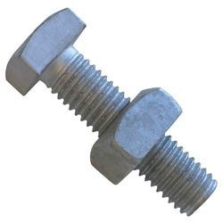 Metal Nut and Bolt