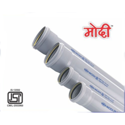 MODI UPVC SWR Pipes, Size/Diameter: 2 inch and 3 inch