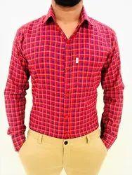 Checks Men's Check Cotton Mix Shirt Rs. 299 Per Piece