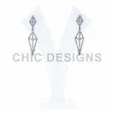 Silver Earrings Jewelry