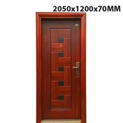 2050x1200x70mm Eld 100 Elite Galvanised Steel Doors