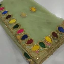 Hand Work Embroidered Dupatta