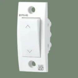 B'Five White 6 Ampere 2 Way Switch, 220-240 V