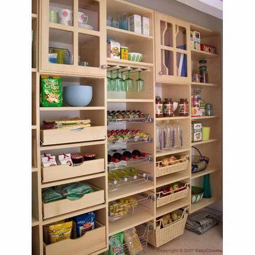 Wooden Kitchen Pantry Storage System Rs 50000 Unit Raj