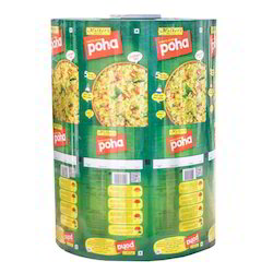 Poha Printed Packaging Roll