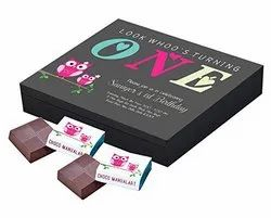 Rectangular Invitation Personalized Chocolate