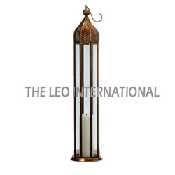 Decorative Tall Candle Lantern