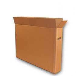 Plain Paperboard TV Carton Box