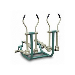 Aakav Fitness Double Elliptical Machine