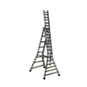 Aluminium Self Supporting Cum Extension Ladder