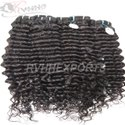 Deep Curly Machine Weft Hair