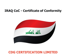IRAQ CoC - Certificate of Conformity