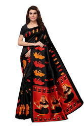 Silk Sarees with Blouse, Length: 6.3 m