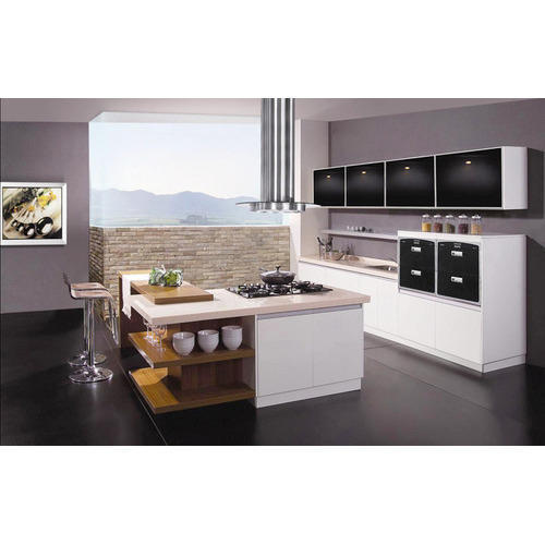 WPC Modular Kitchen At Rs 2100 /square Feet