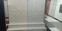 Steps and raiser vitrified tiles