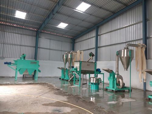 Spices Processing Plant Spice Processing Plant