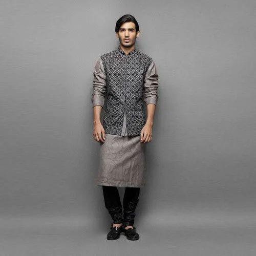 aa6917b725cb Cotton Casual Wear Designer Mens Kurta Pajama