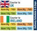 Worldwide International Bulk Courier Service