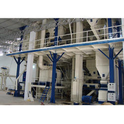 1TPH Capacity  Semi Automatic Cattle Mesh Feed Plant