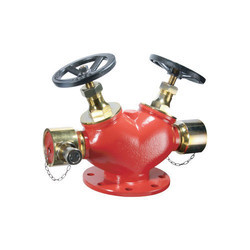 Aim-EX Double Outlet Landing Valve, Size: 2 1/2