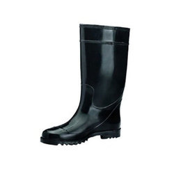 Black Safety PVC Gumboot