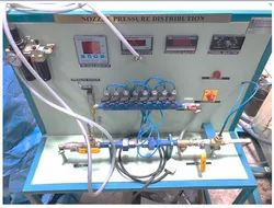 Nozzle pressure distribution Test Rig