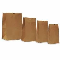 Recyclable Kraft Paper Grocery Bag