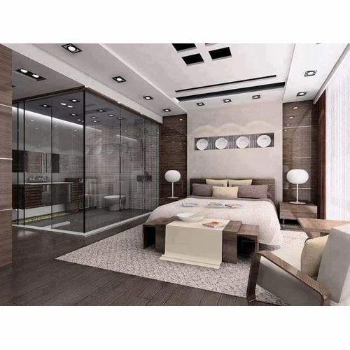 White Modern Bedroom Ceiling Designs