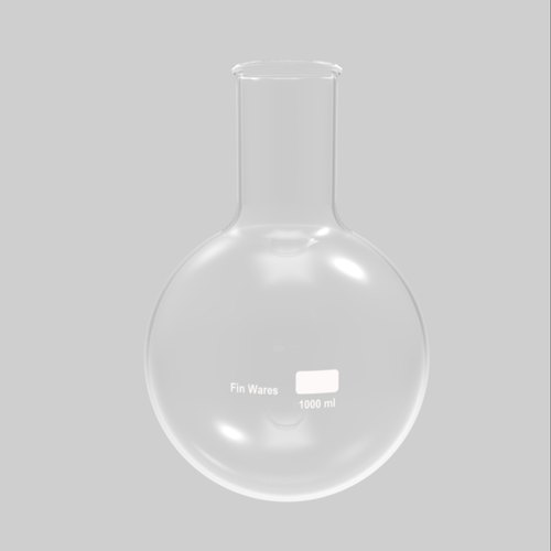Borosilicate Cylinder Flasks, Capacity: 1000 mL