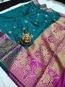 Crystal Silk Weaving Jacquard Saree