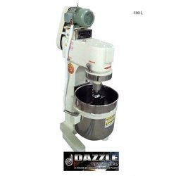 Dazzle Stainless Steel 100 Litre Planetary Mixer Machine