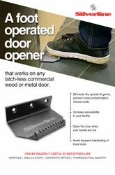 FOOT OPERATED DOOR OPENER