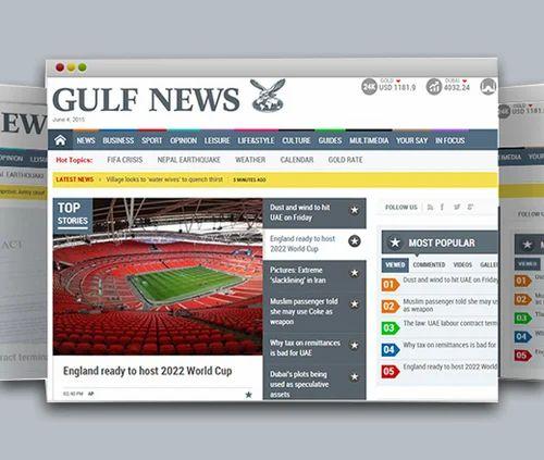 Gulf News in Mumbai, Churchgate by Media Star Pvt Ltd | ID