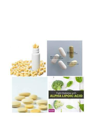 Alpha Lipoic Acid Tablet, Packaging Type: Blisters, Packaging Size: 10x1