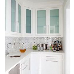 Kitchen Glass Wardrobe