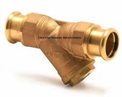 Deepak Brass Y Connectors