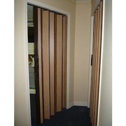 Brown PVC Accordion Door, Rs 200 /square feet, Chirag Enterprises