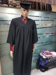 Black Convocation Gown