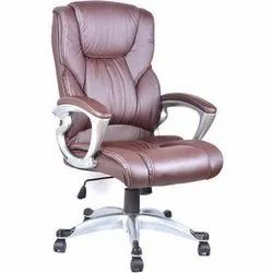 Brown Leather Boss Office Chair