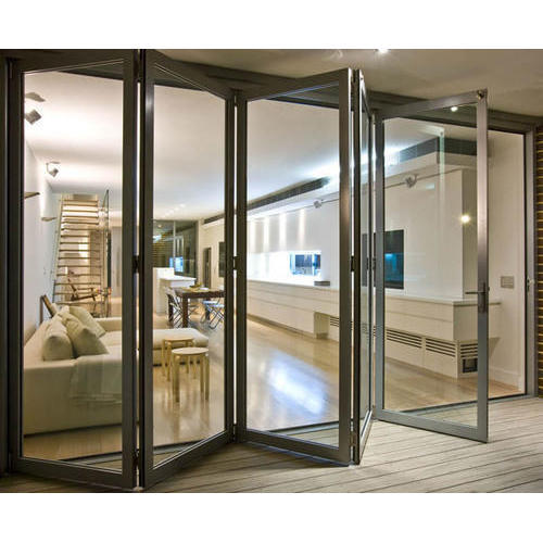 UPVC Bifold Gl Door at Rs 450 /square feet | Upvc Gl Door | ID ... on