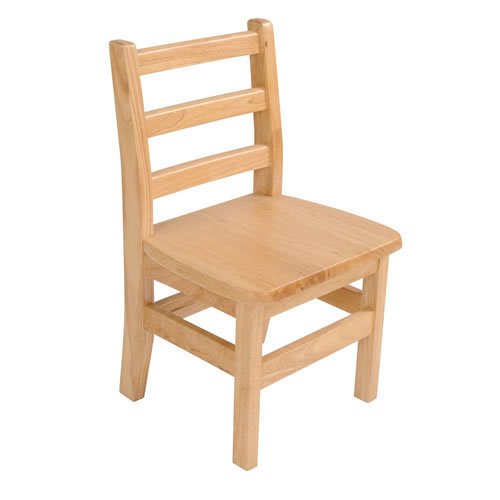 Light Brown Wooden School Chair