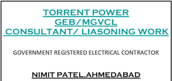 Torrent Power and MGVCL Consultant/ Liasoning work, in Gujarat