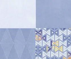 SakarMarbo Blue Ceramic Digital Wall Tile 300_600mm Sugar Series 7015 for Hotel