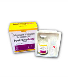 1ml-5ml Allopathic Cefoperazone Sulbactam Injection 4.5 Gm Pack, Packaging Type: Vial With Stopper