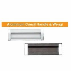 Zeekon Aluminium Concealed Handle And Wengie, Size: 4 Inch